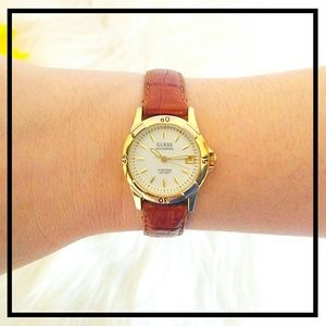 Vintage Women's Two Tone Guess Watch